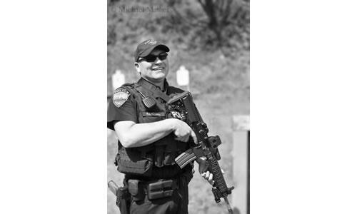 Andrew Randell, Police Officer 2013