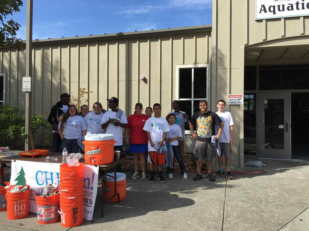 Aquatic Center Clean Up