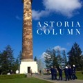 Astoria Column - Completed in 1926, the column is a monumental piece of Astoria's history. Located at the top of Coxcomb Hill, the Column stretches upwards 125 feet, with 164 spiral steps to reach the viewing deck.